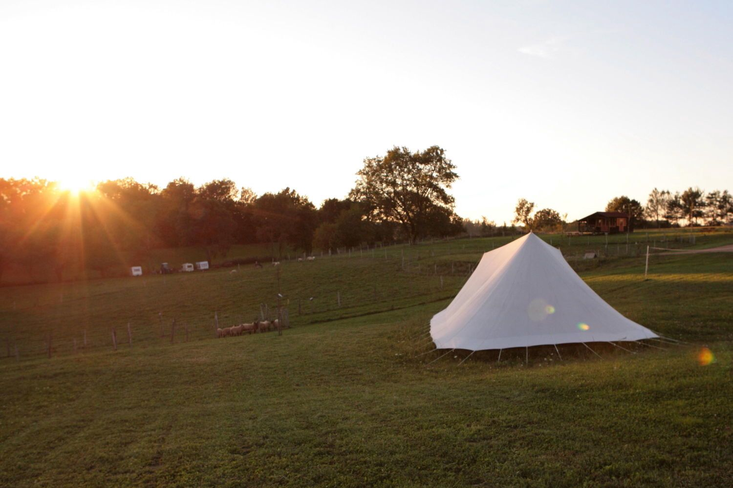 Campsites in Burgundy & Loire