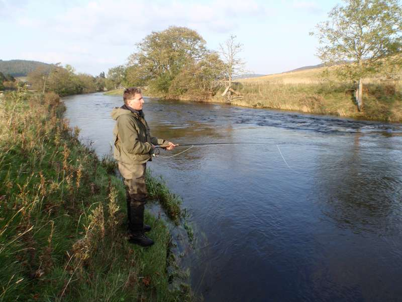 Fishing in the Tweed