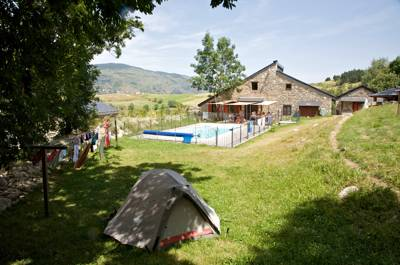 'Rustic boutique' is perhaps a good way to describe L'Orri des Planès; a small but perfectly formed campsite nestled atop the lovely Planès Valley.
