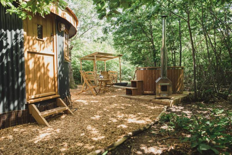 Five hot tub glamping retreats within easy reach of London