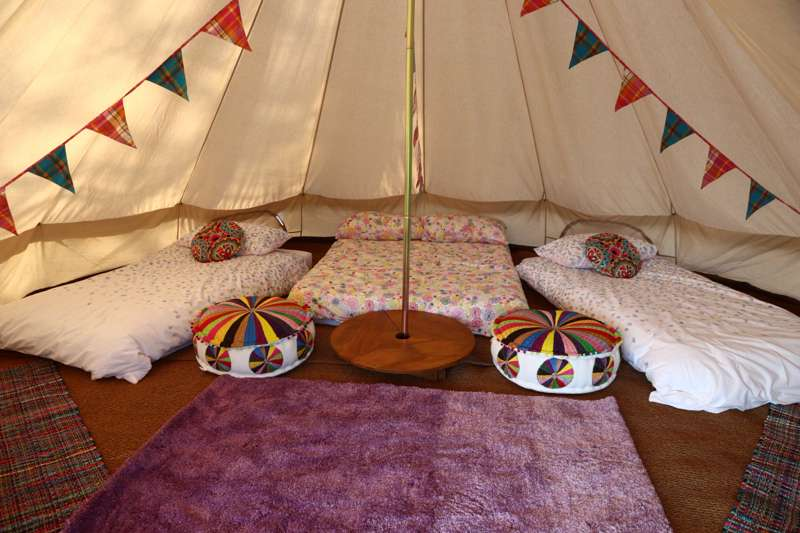 Sparrowhawk Furnished Bell Tent