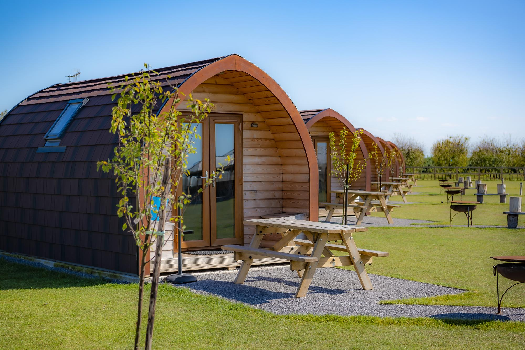 Campsites in Maidstone holidays at Glampingly