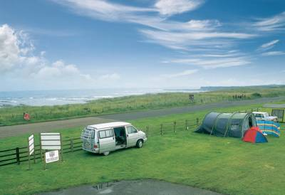 Beadnell Bay Camping and Caravanning Club Site Beadnell, Chathill, Northumberland NE67 5BX