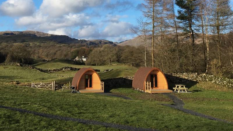 Kentmere Farm Pods Browfoot Farm, Staveley, Nr Kendal, Cumbria LA8 9JQ