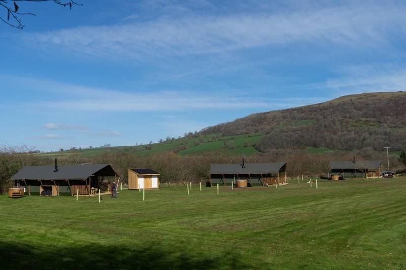 Gilestone Glamping Gilestone Farm, Station Road, Talybont, Brecon, Powys LD3 7JE
