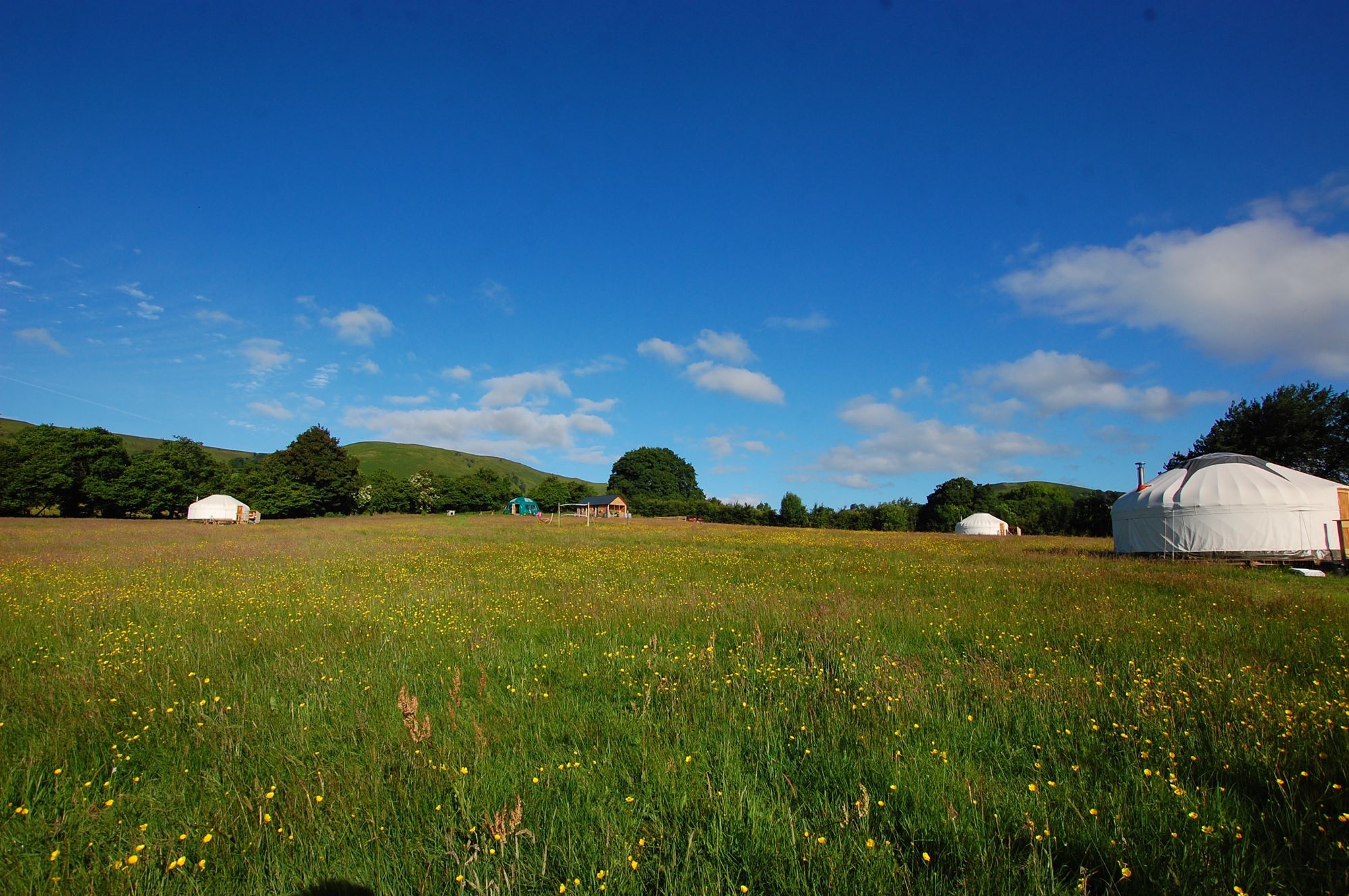 Glamping in Presteigne holidays at Glampingly
