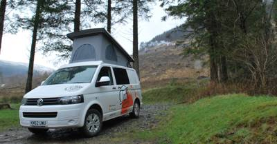 Campervan Hire in South Wales and London