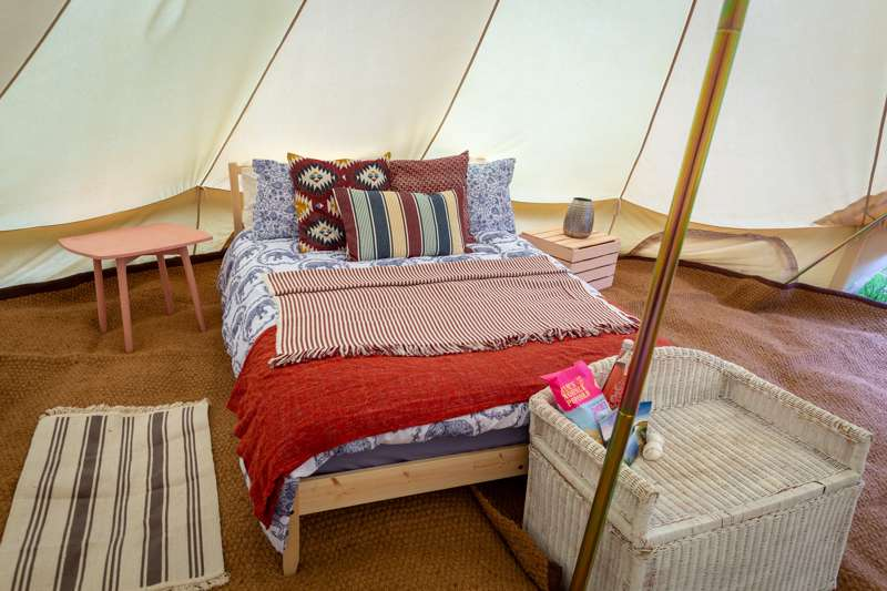 Bell Tent - Heigham Holmes Island