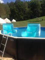 LUXE 6m Belle Tent with Hot Tub