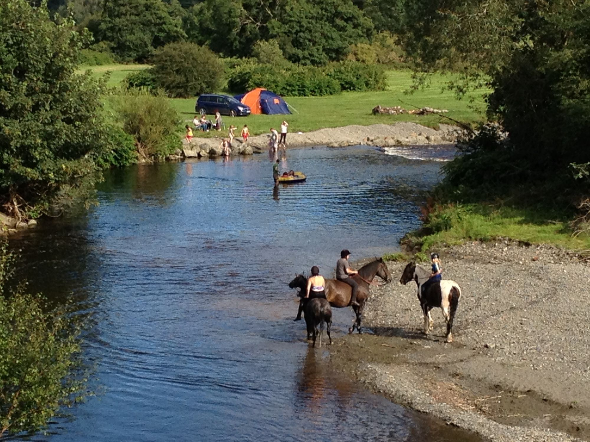 Refreshingly understated, family-friendly campsite on a working mid-Wales farm. Oh yeah, and you can camp right next to the River Severn!