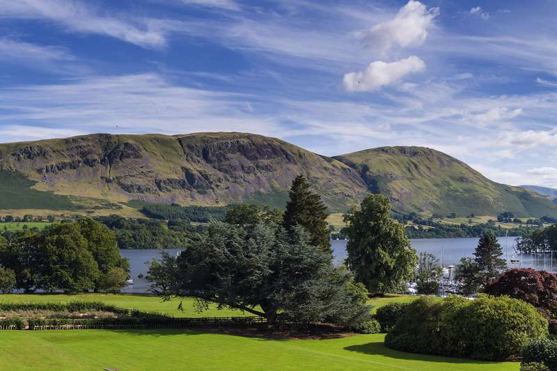 You get the best views of Ullswater from Another Place, The Lake – one of Cumbria's finest country-house hotels