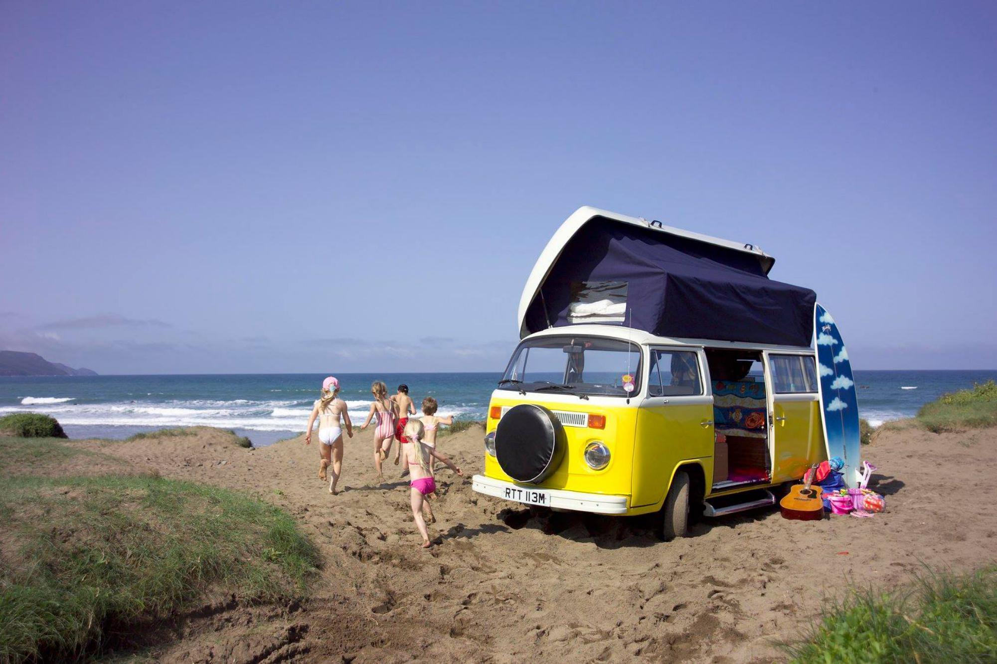 Campervan Hire in Cornwall | Campervan Rental Companies in Cornwall
