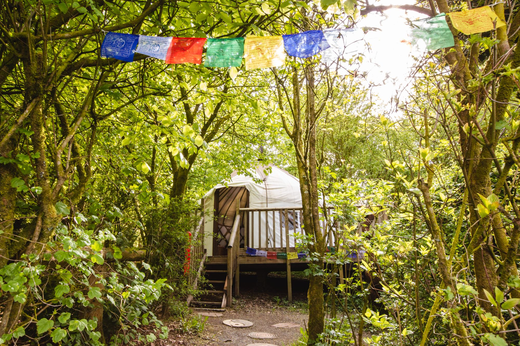 Glamping in Newcastle Emlyn holidays at Cool Camping