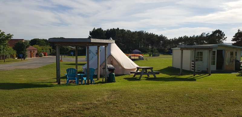 Runswick Bay Caravan and Camping Park Hinderwell Lane, Runswick Bay, Nr Whitby, North Yorkshire TS13 5HR