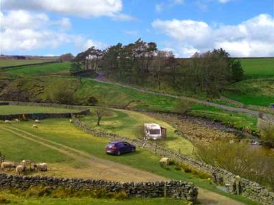 Straight forward, secluded camping amongst the brooding scenery of the Yorkshire Dales National Park.