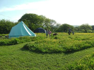 Bakesdown Farm Camping Lower Bakesdown Farm, Marhamchurch, Bude, Cornwall, EX23 0HJ