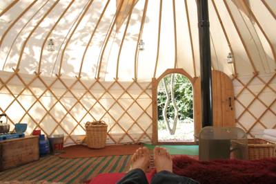Woodland Tipis and Yurt Holidays Woodlands Farm, Little Dewchurch, Herefordshire HR2 6QD