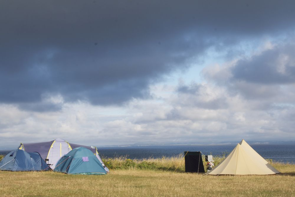 Campsites in Harlech holidays at Cool Places