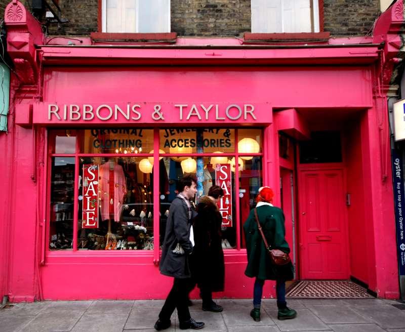 Ribbons and Taylor