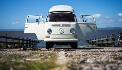 A classic pop-top VW for cruising North-West England and beyond.