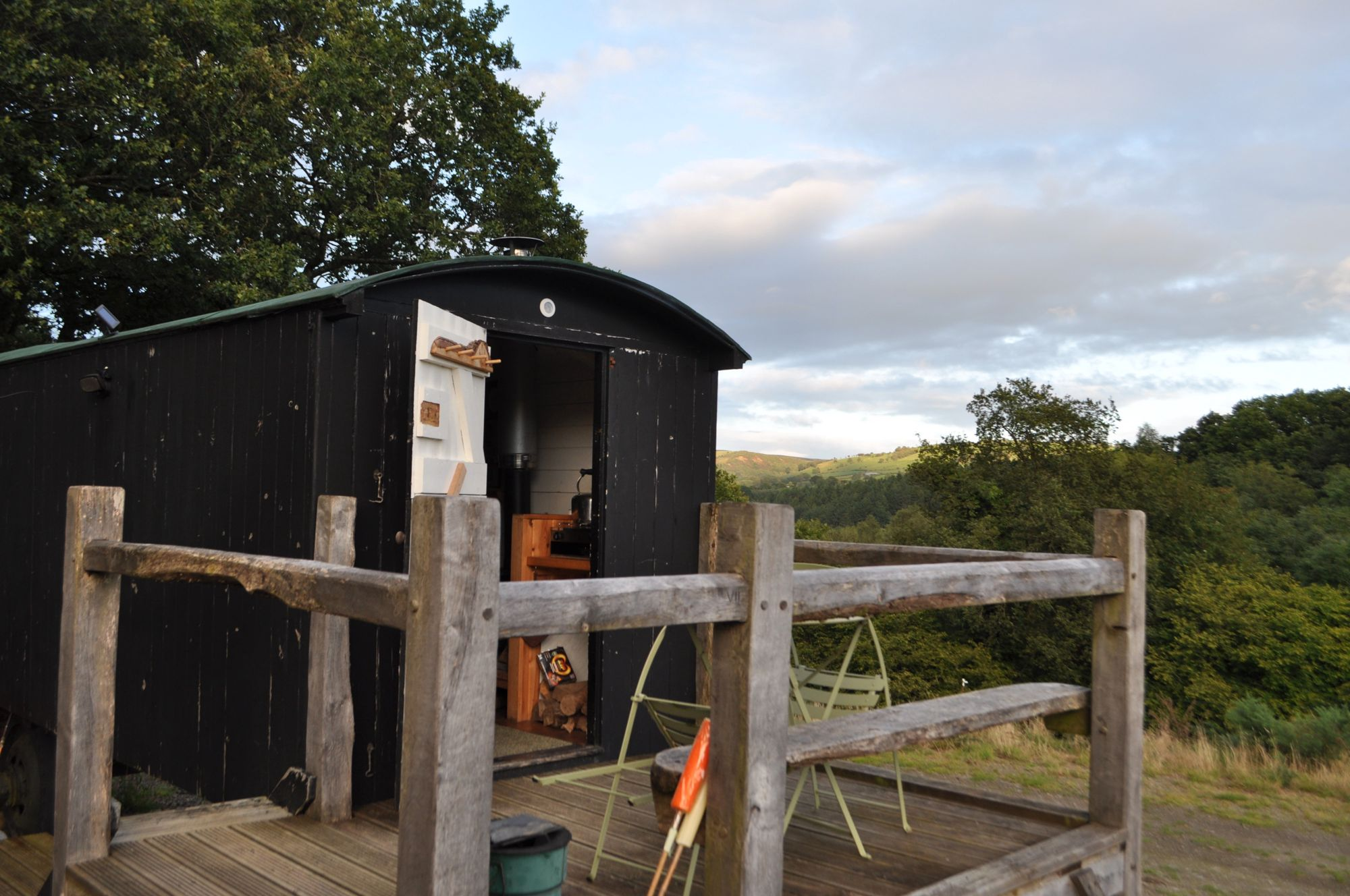 Try these refurbished Victorian shepherd & gypsy huts for a 'different' type of holiday accommodation, in a picture-perfect glade just outside the Brecon Beacons National Park.