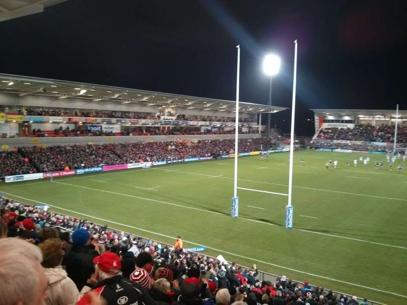 Ulster Rugby's Ravenhill Stadium