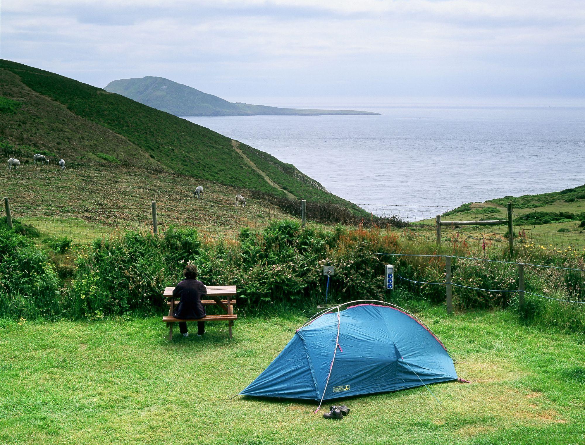 Mynydd Mawr Camping, North Wales