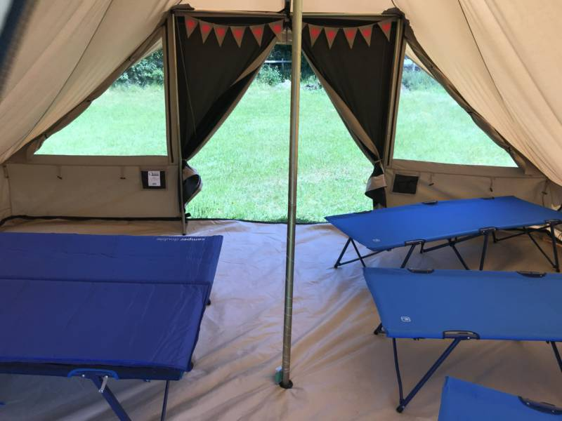 Arniss Bell Tent - Semi Equipped