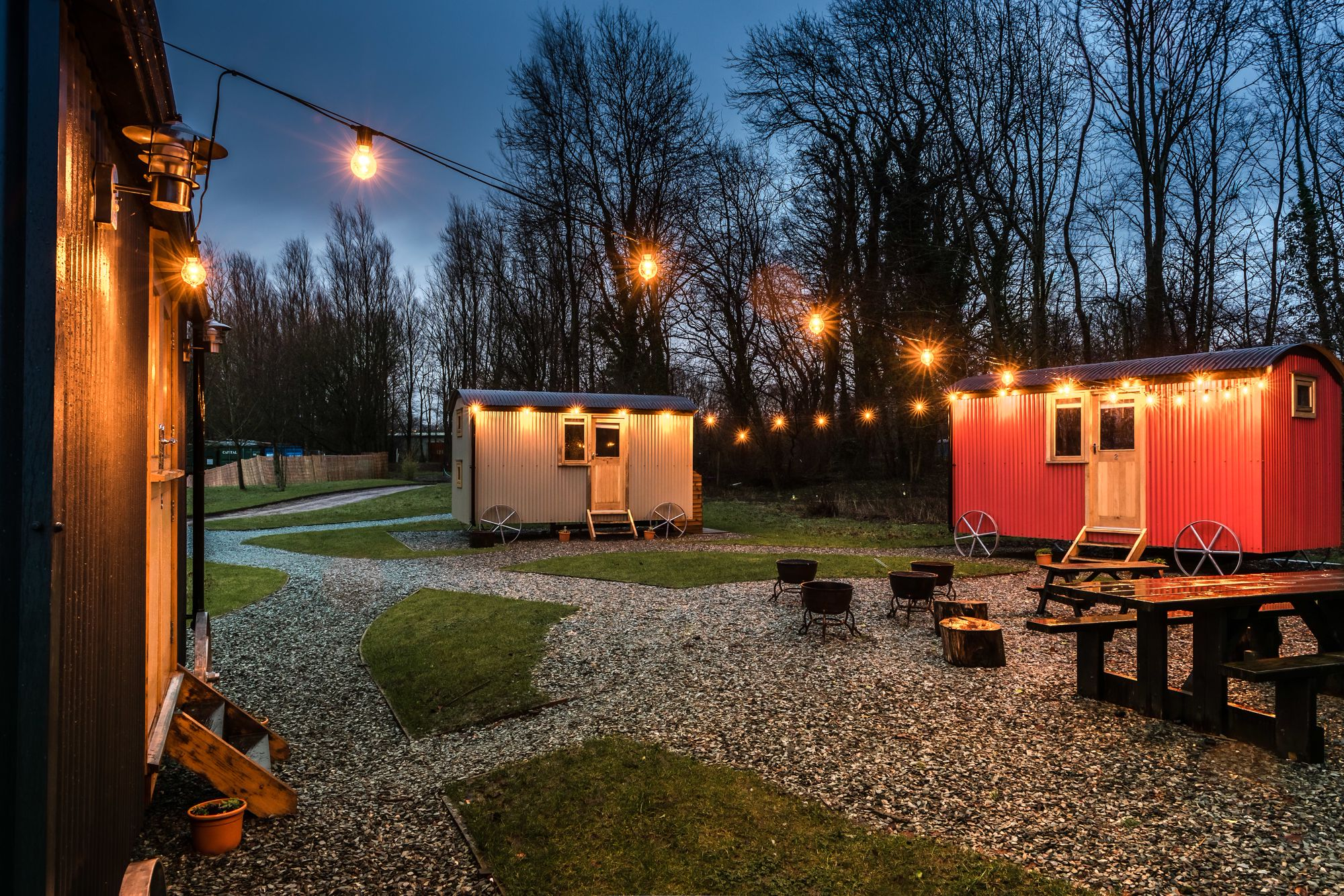 Shepherd's Huts in North West England – Glampingly