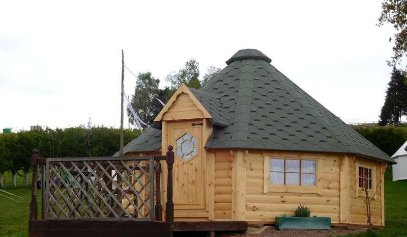 Luxury Wooden Pod
