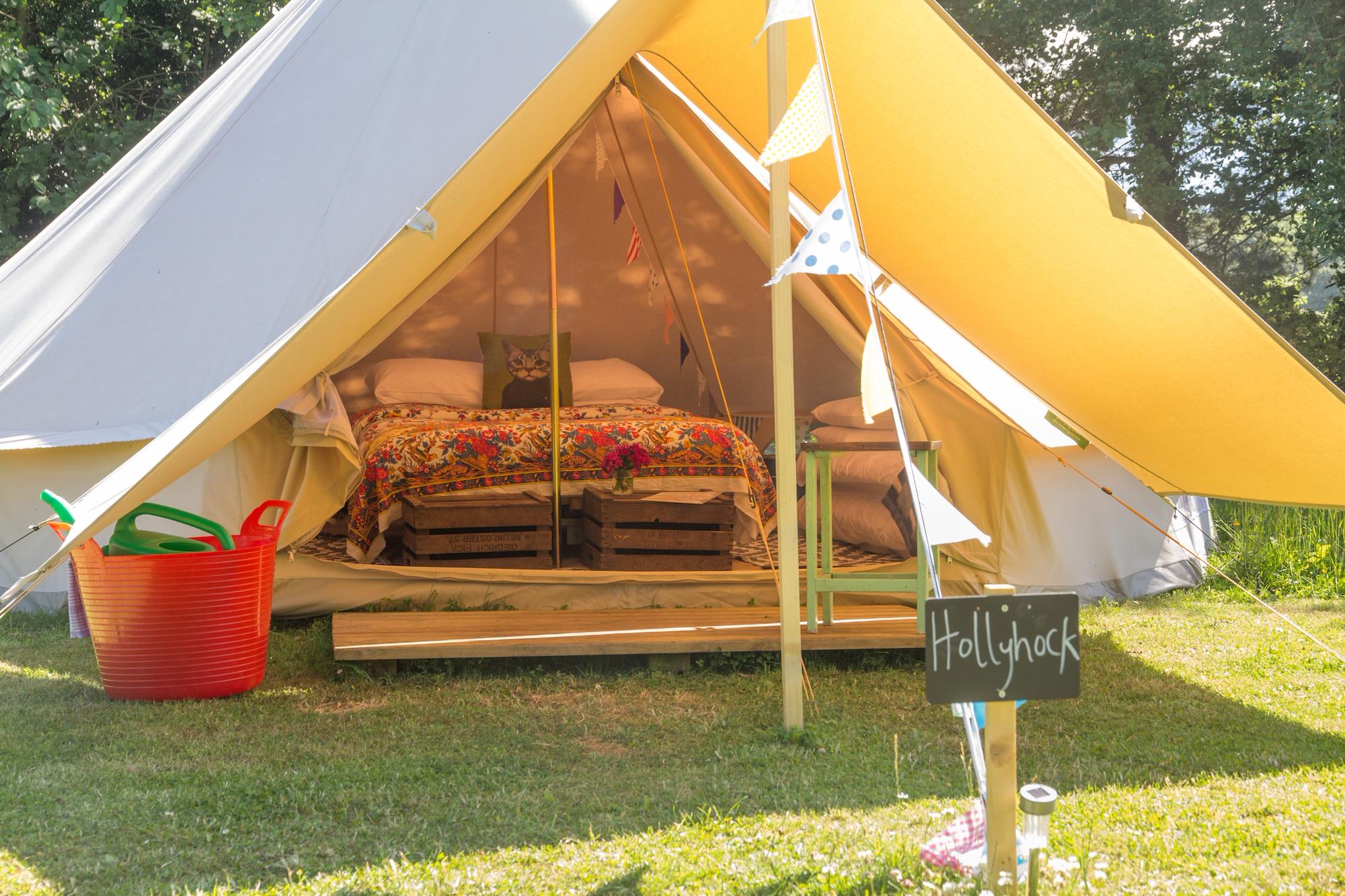 Ambers Bell Tent Glamping
