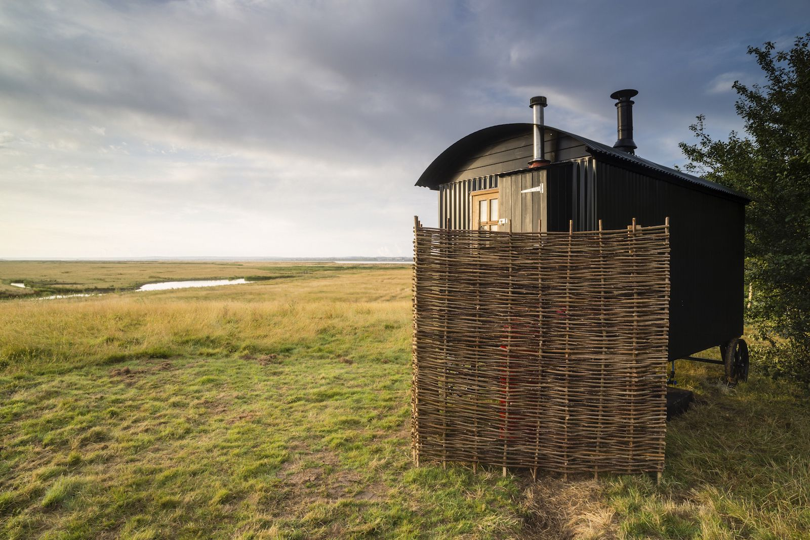 With spectacular landscapes, soul-stirring skies and breathtaking wildlife, Elmley National Nature Reserve is an inspirational place to visit just one hour from London.   © Rebecca Douglas and Robert Canis