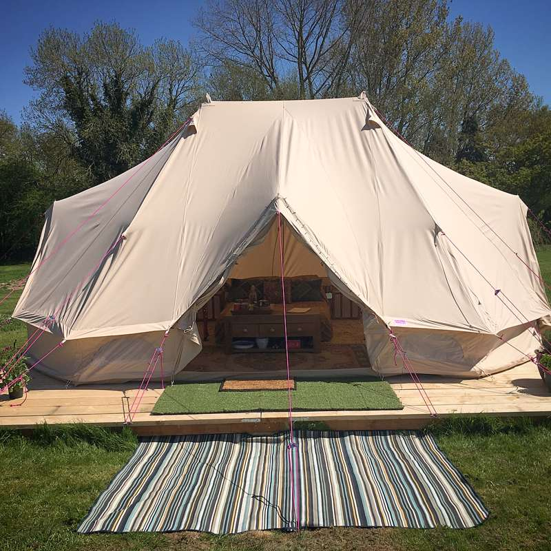 lowest price 699d1 9c126 Family Emperor Bell Tent at Wardley Hill Campsite - Cool Camping