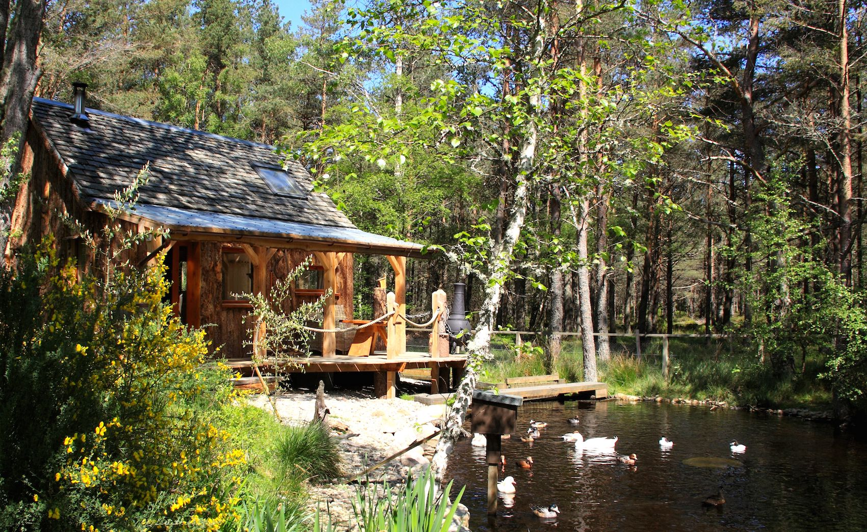 Glamping in Highlands holidays at Cool Places