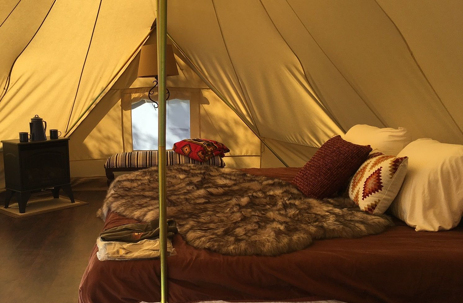 Glamping in Andalucia holidays at Cool Camping