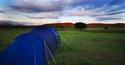 With horses for neighbours and chickens for playmates, Balloch O' Dee campsite is the kind of site for rural-loving campers in need of space and stargazing opportunities.