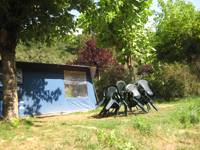 Furnished Pre-pitched Tent