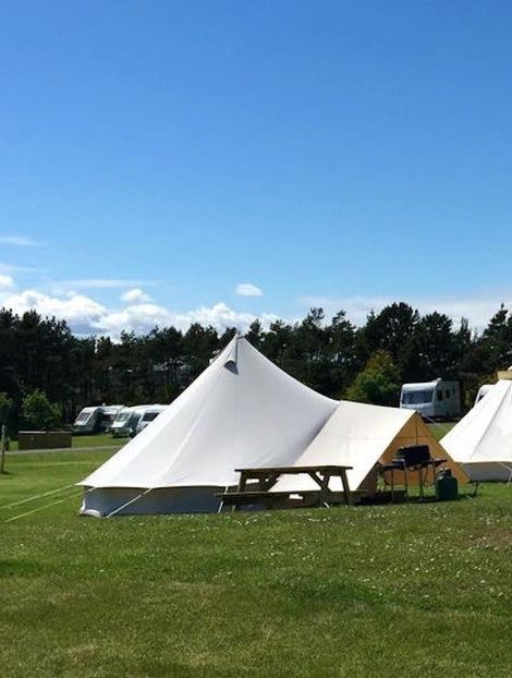 Glamping sites in North Yorkshire