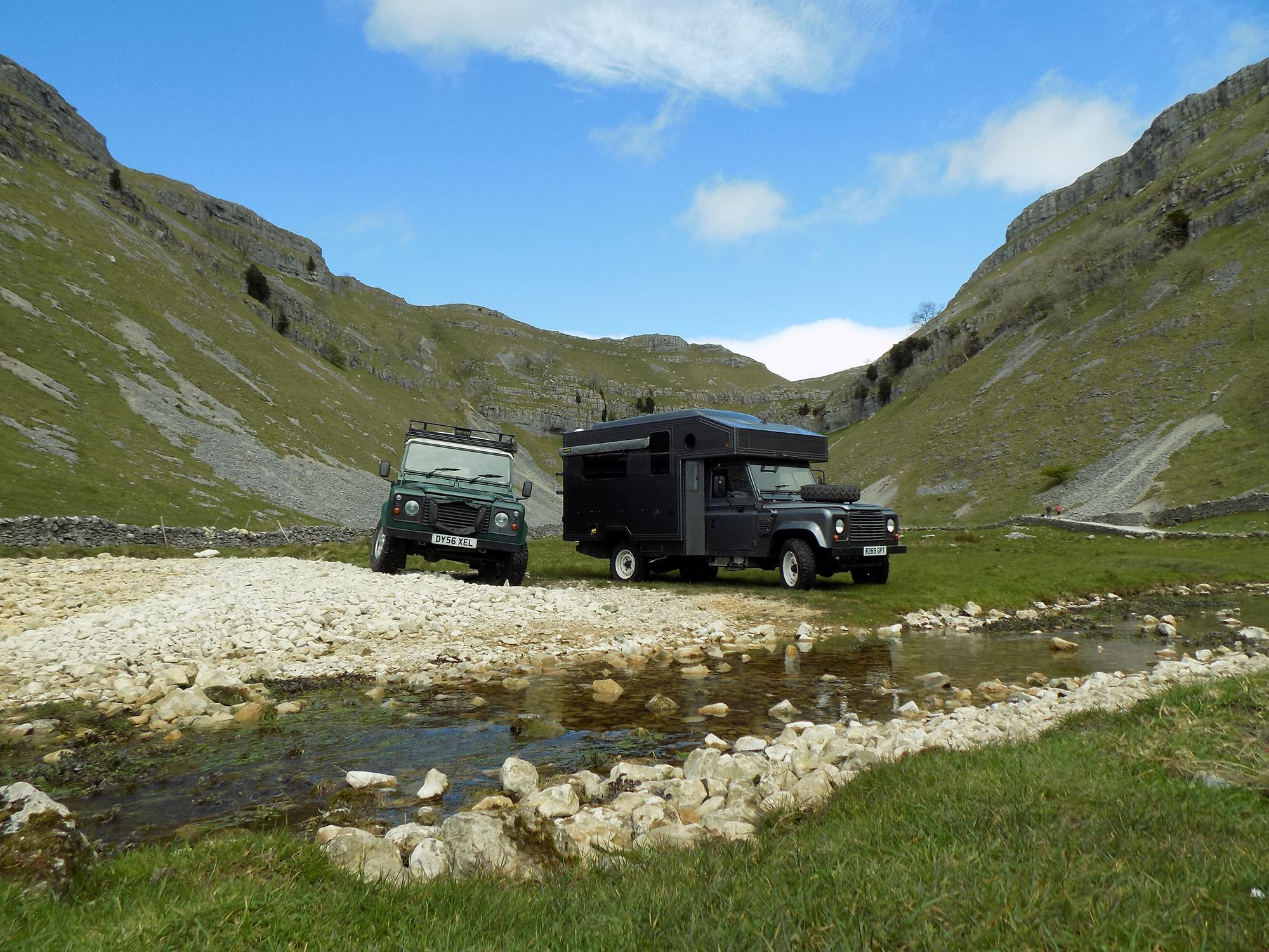 Campervans in West Yorkshire holidays at Cool Camping
