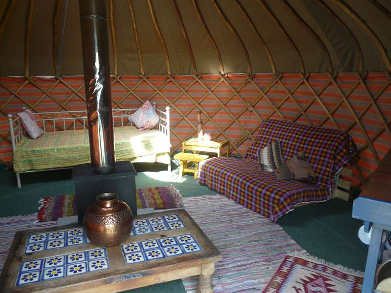Daddy Bear Yurt