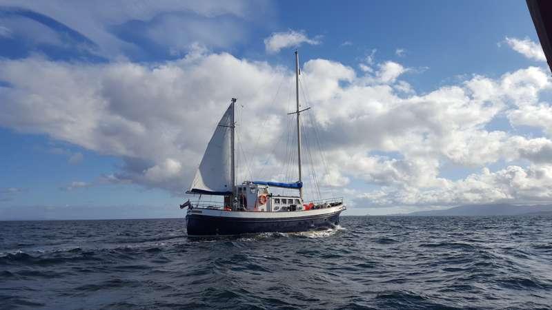 St Hilda B&B Afloat Tobermory Isle of Mull Scotland