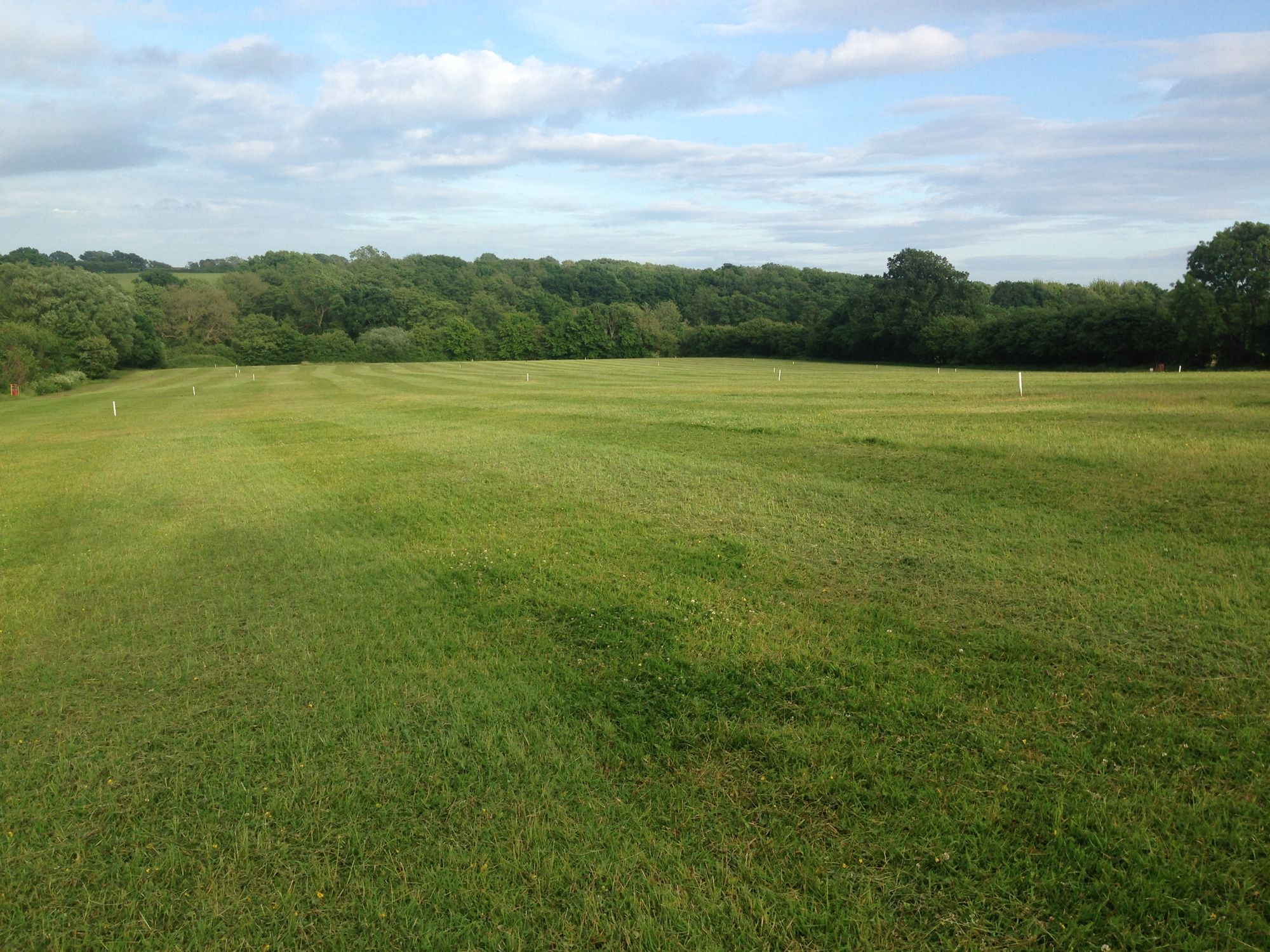 A family-run, working farm in East Sussex offering spacious, traditional camping with no set pitches.