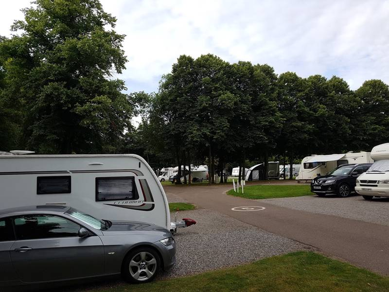 Four Oaks Caravan Club Site Marlow Road, Henley On Thames, Oxfordshire, England, RG9 2HY, UK