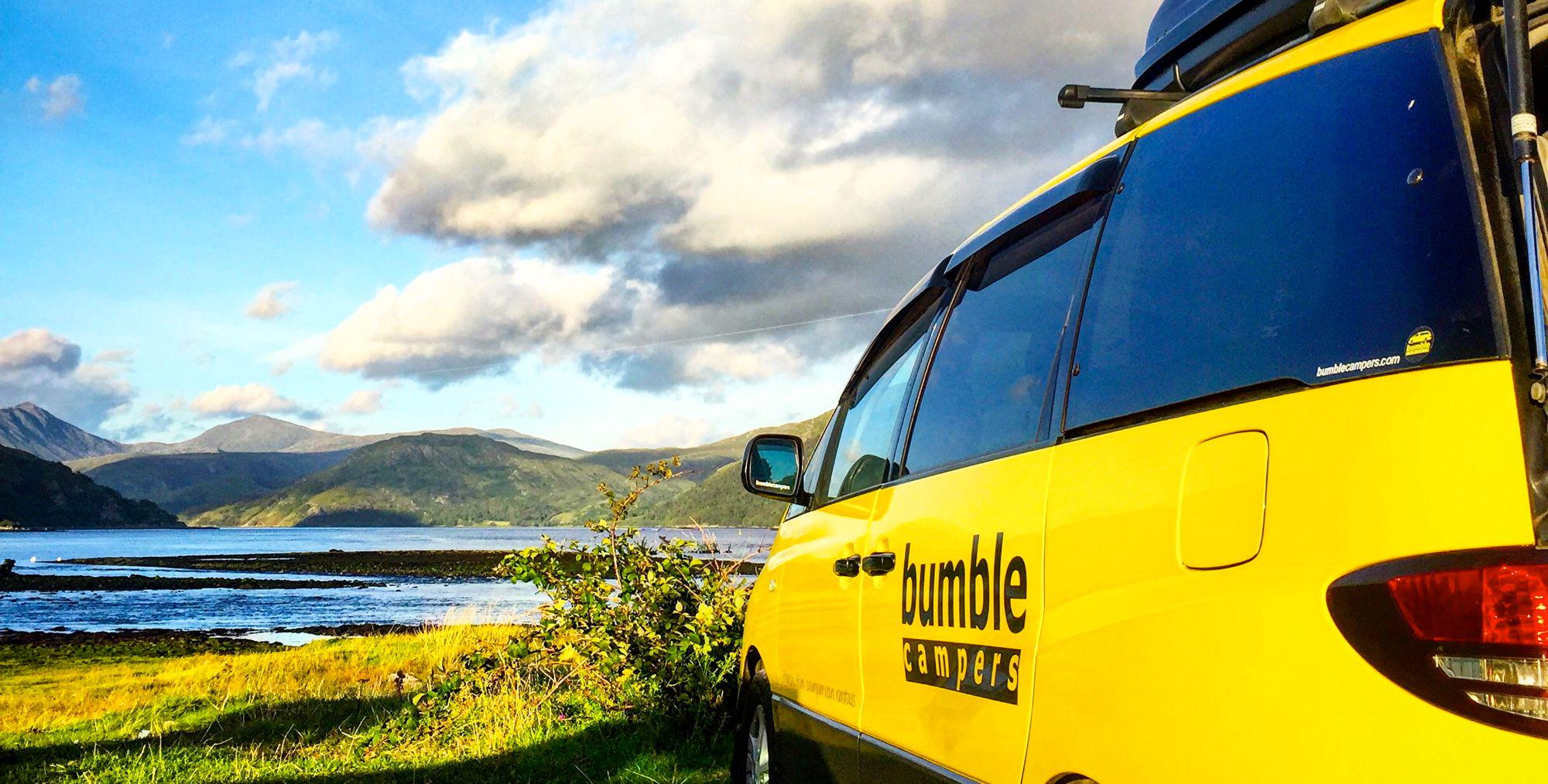 Campervan Hire in the Peak District National Park